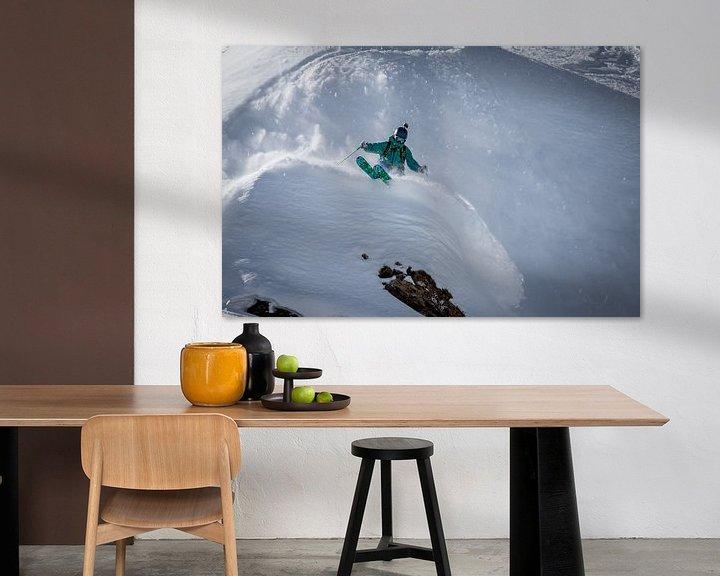 Impression: Freeride ski sur Martijn Hinrichs