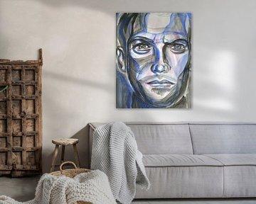 blau Mann von ART Eva Maria