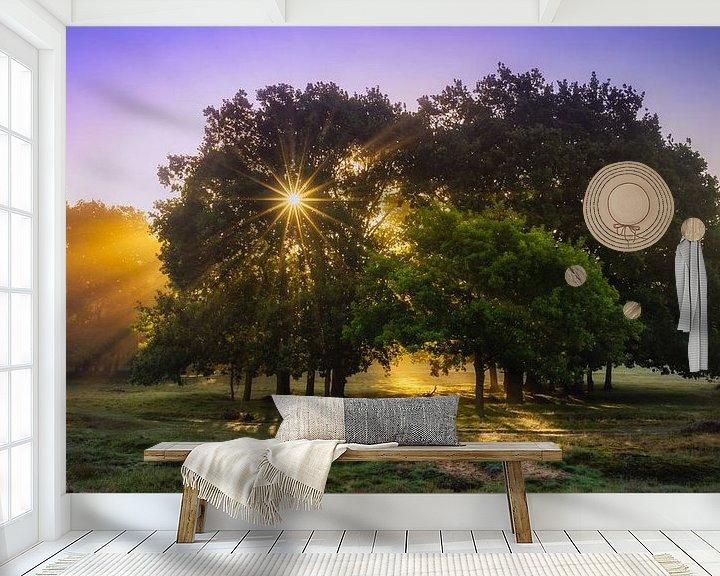 Sfeerimpressie behang: Starlight van Bart Hendrix