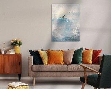 HEAVENLY BIRD I  Portrait van Pia Schneider