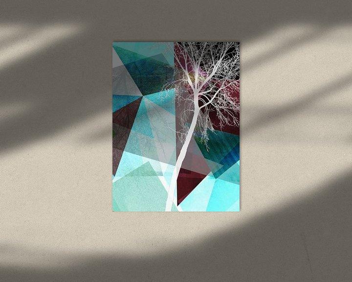 Sfeerimpressie: LONELY TREE III van Pia Schneider