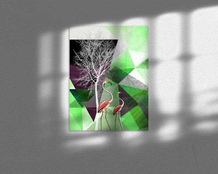 Sfeerimpressie: FLAMINGOS P21 v1 van Pia Schneider