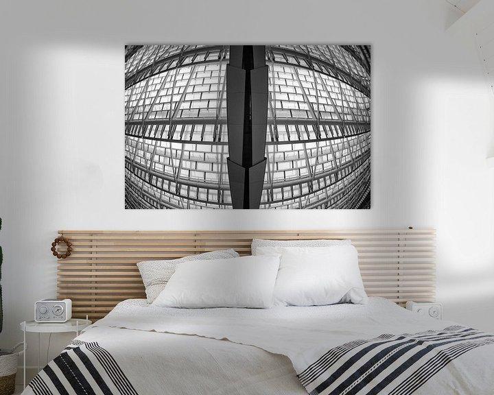 Beispiel: Les halles in Paris von Loek van de Loo