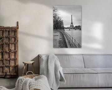 Eiffeltoren in Parijs van Loek van de Loo