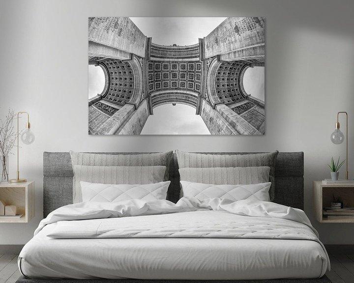 Sfeerimpressie: Arc De Triomphe in Parijs van Loek van de Loo