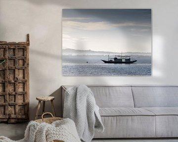 boat on water van Jaap Baarends
