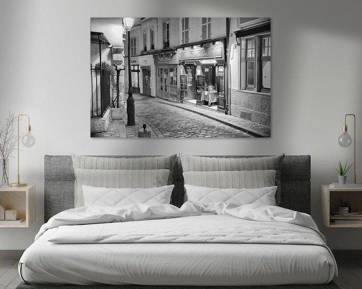 Beispiel: Montmartre in Paris von Loek van de Loo