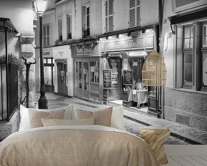Beispiel fototapete: Montmartre in Paris von Loek van de Loo
