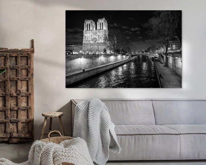 Beispiel: Notre Dame in Paris von Loek van de Loo