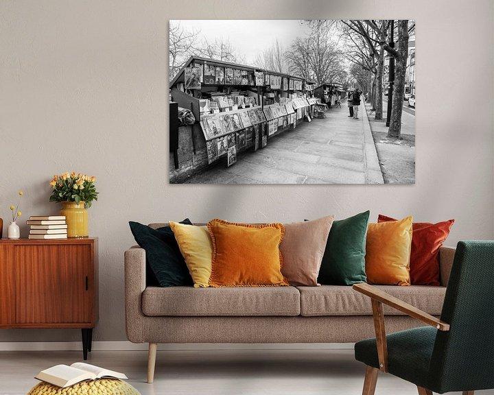 Impression: Buchen Sie Stände auf der Seine in Paris sur Loek van de Loo