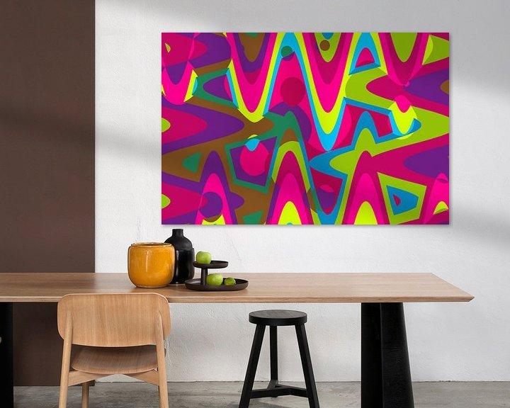 Beispiel: Abstrakt-Pop Art von Marion Tenbergen