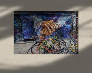 Shoreditch graffiti 4 van Erwin Blekkenhorst