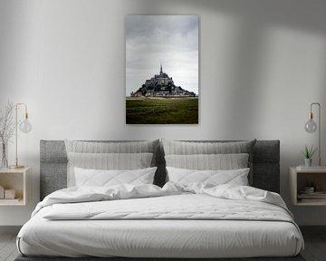 Een wonderlijk uitzicht op Mont Saint-Michel von Amadeo Truzzu