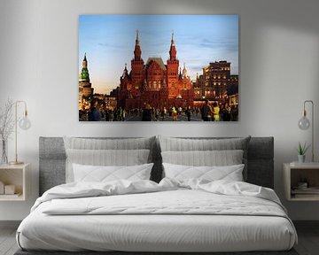 Nationaal Historisch Museum, Moskou von Andrew Chang