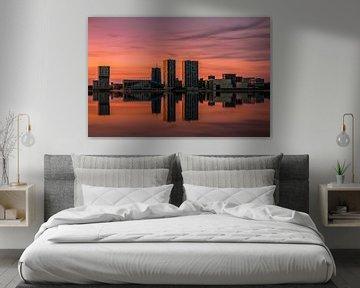 Almere skyline von Georgios Kossieris