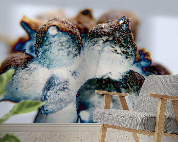 Beispiel fototapete: Abstraktie van Ding #003a von Peter Baak
