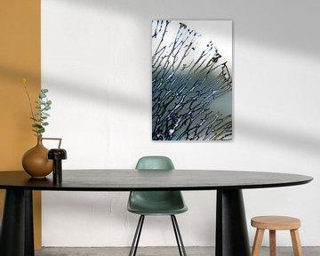 Abstractie van Ding #004b von Peter Baak