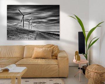 Windturbines van Jos Reimering