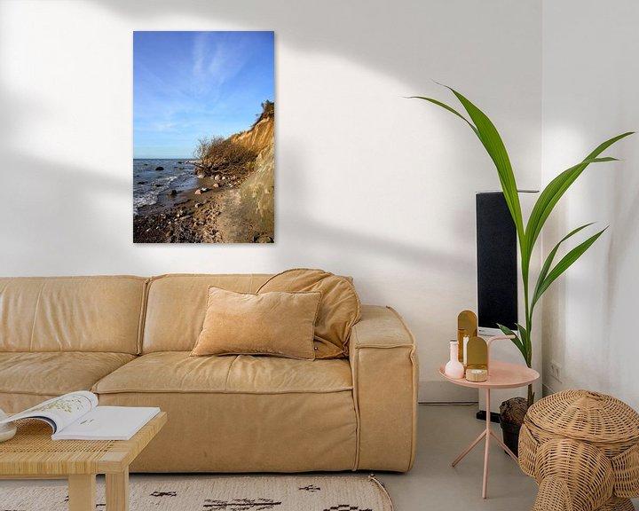 Beispiel: An der Steilküste von Ostsee Bilder