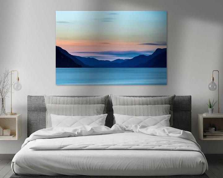 Sfeerimpressie: Noorwegen, Tinnsjå meer (Telemark) van Ton Drijfhamer