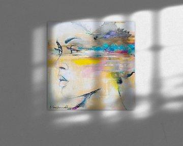 Art Face  02 van Atelier Paint-Ing