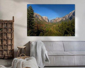 Tunnel View Yosemite van Jeffrey Van Zandbeek