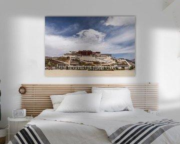 Potala paleis in Lhasa, Tibet van Erwin Blekkenhorst