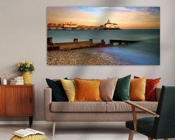 Sunset Eastbourne Pier