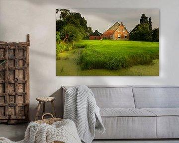 Groningse boerderij  van Bo Scheeringa Photography