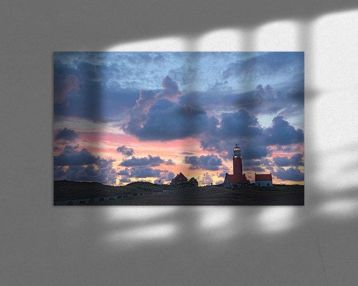 Sfeerimpressie: Vuurtoren van Texel van Wilco Kasteleijn