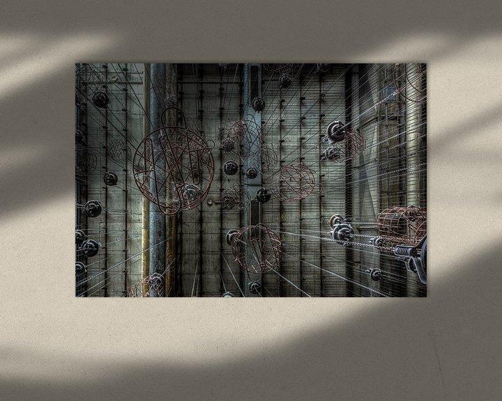 Sfeerimpressie: Caged  van dafne Op 't Eijnde