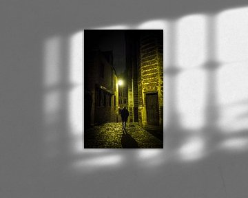 Antwerpen bij Nacht... van Maurice Weststrate