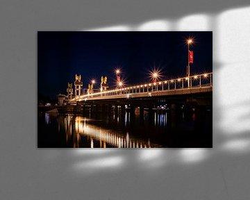 Stadsbrug Kampen van Jos Reimering