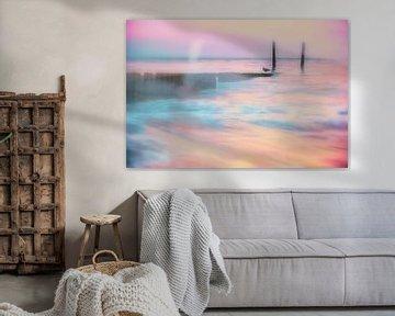 Sea of Pink van Ruud van Oeffelen-Brosens