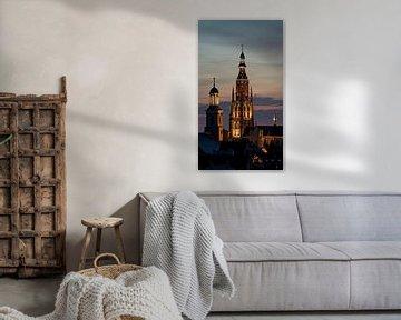 Breda Skyline Grote Kerk van I Love Breda