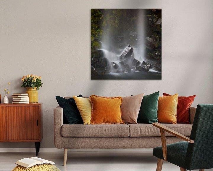Impression: Svartifoss waterval IJsland sur Menno Schaefer