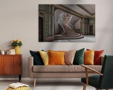 Treppe &Lampe; Licht von Guy Bostijn