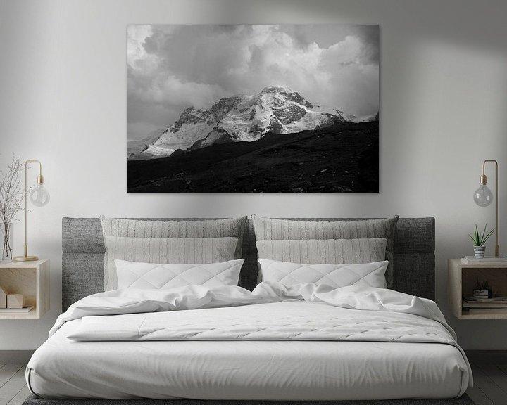 Sfeerimpressie: Berg in volle glorie  van Lukas De Groodt