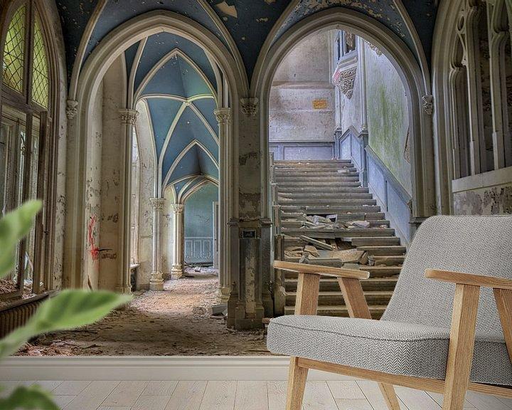 Sfeerimpressie behang: Chateau Noisy van Jack Tet