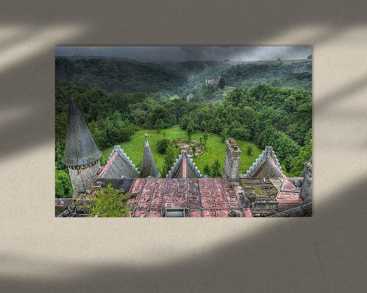 Sfeerimpressie: Urbex Kasteel  Chateau Noisy van Jack Tet