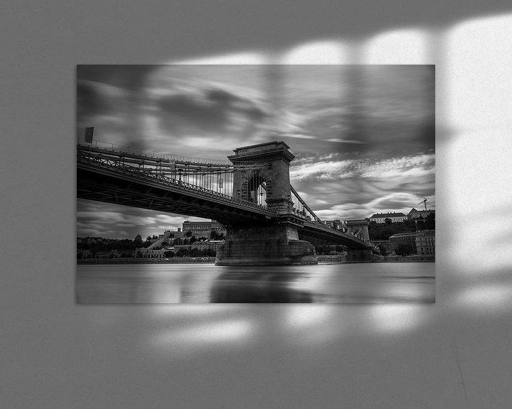 Sfeerimpressie: De Kettingbrug in Boedapest van Sem Wijnhoven