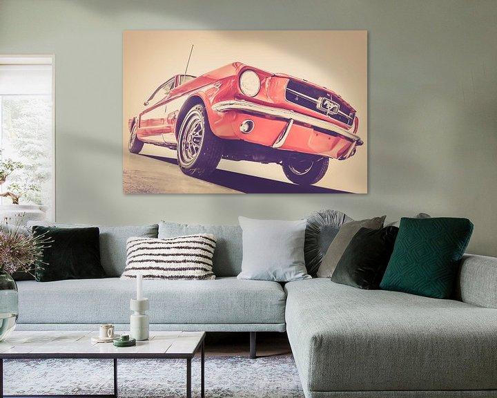 Sfeerimpressie: Ford Mustang van marco de Jonge