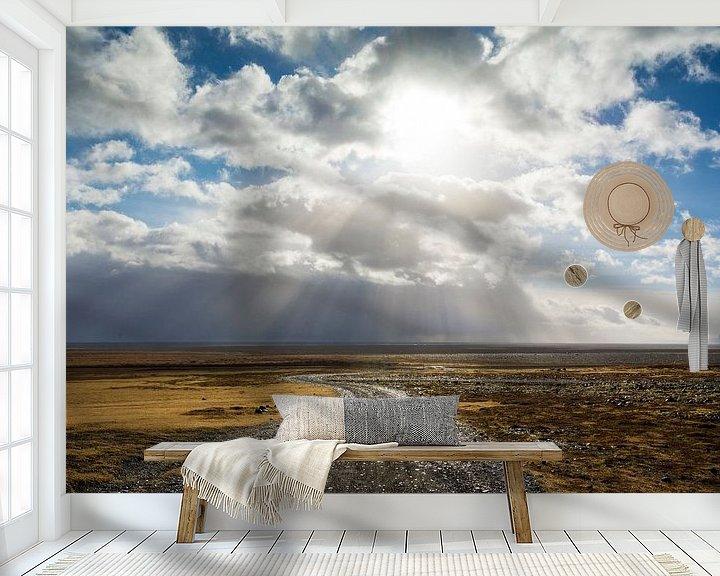 Beispiel fototapete: Hvergi (IJslands voor: onbekende bestemming) von Aisja Aalbers