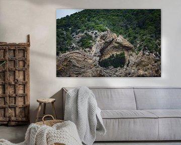 grotten op ibiza van Peter van Mierlo