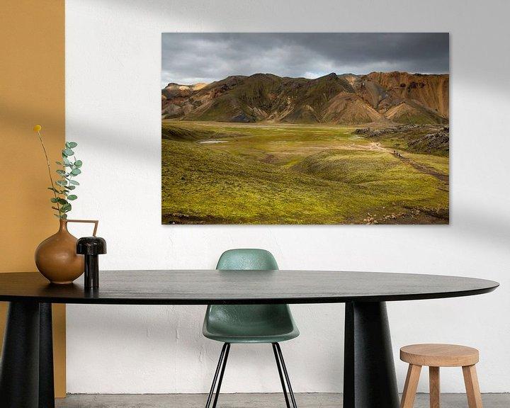 Impression: IJslands binnenland Landmannalaugur sur Menno Schaefer