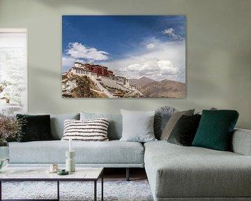 Potala Palast in Lhasa, Tibet