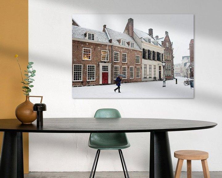 Impression: Sneeuw achter de Dom in Utrecht sur Chris Heijmans