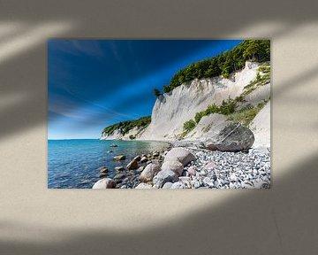 Baltic Sea coast on the island Ruegen, Germany. van Rico Ködder