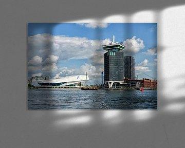 ADAM-toren en EYE museum von Foto Amsterdam / Peter Bartelings
