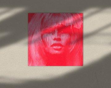 Brigitte Bardot Strawberry Red - Love Pop Art - 24 Colours - Game - IPAD von Felix von Altersheim